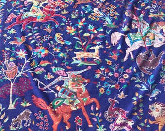 Hand Kani Embroidered Shikargah pure Pashmina