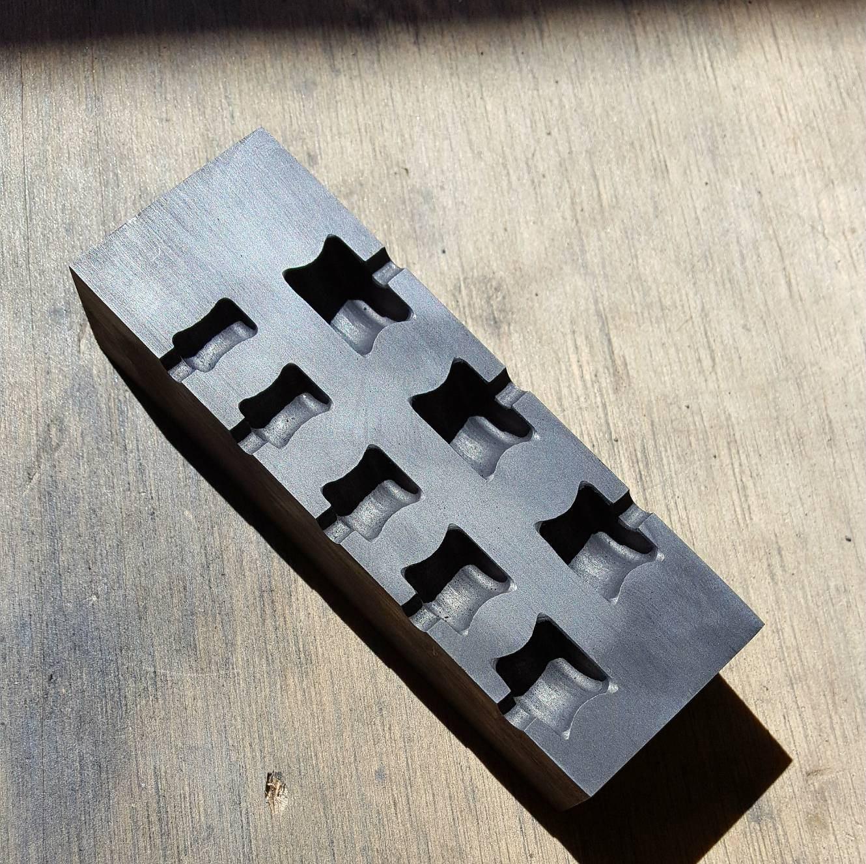 Moule Moule Moule graphite: Calibre moule V2 (10mm - 24mm) 5da41c