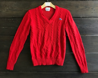 Vintage 70s/80s Lacoste Pullover Sweater