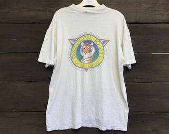 Vintage 90s Zoological Society 50/50 Tee