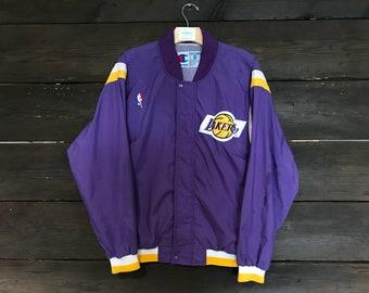 Vintage 90s Champion NBA Lakers Jacket