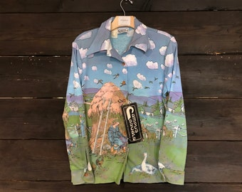 Vintage 70s Campus Casuals Shirt