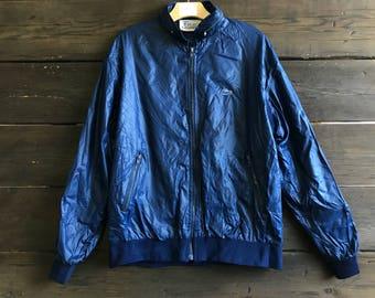 Vintage 80s Lacoste Windbreaker Jacket