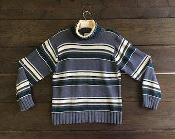 Vintage 90's Columbia Turtleneck Sweater