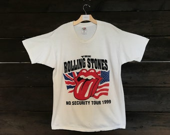 Vintage 90s The Rolling Stones No Security Tour 1999