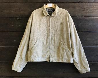 Vintage 90s Ralph Lauren Polo Corduroy Jacket