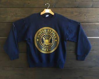 Vintage 90's Soffe Navy Crewneck