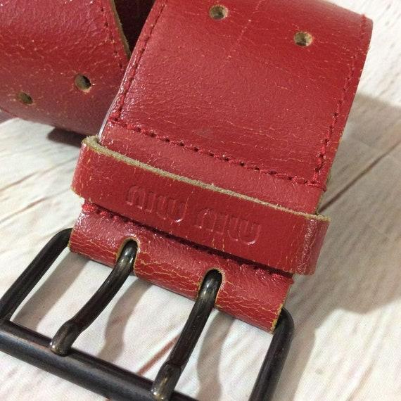 20b11bb16ec8 Vintage Retro Wide Belt Super Soft Leather W  Double Holes
