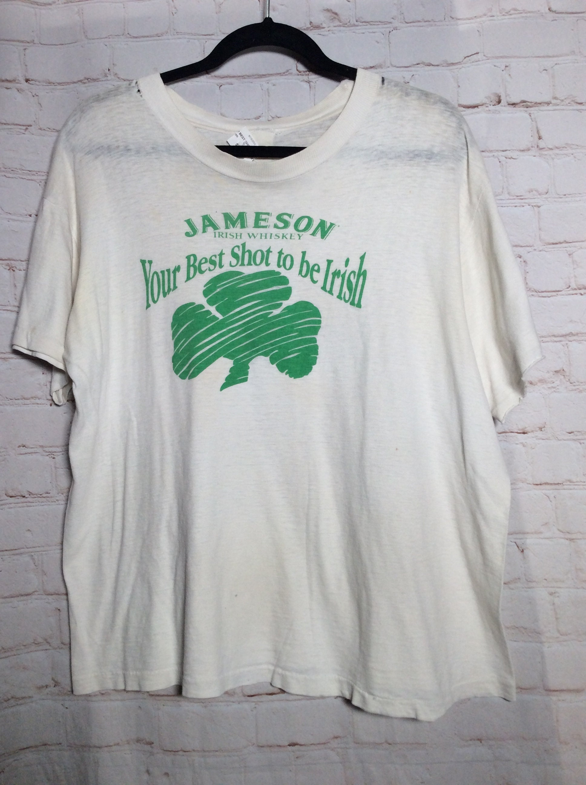 58cd73adb52 Vintage T-shirt Saint Patricks Day Jameson Whiskey your Best