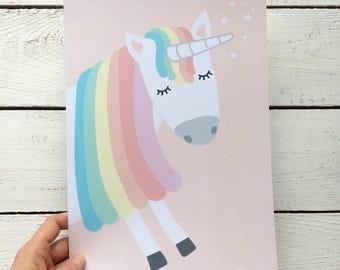"Art print/poster ""Unicorn"""