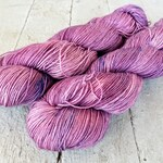 "Hand Dyed Sock Yarn, 75/25 Superwash Merino - Nylon, Sycamore Sock ""Bored Now Misfit"""