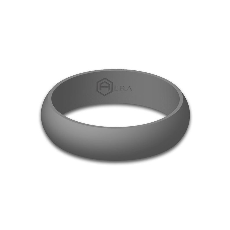 Best Silicone Wedding Ring.Aera Women S Gray Silicone Wedding Band Engagement Ring Best Quality Skin Safe Cute Athletic Gift For Wife Her Free Shipping