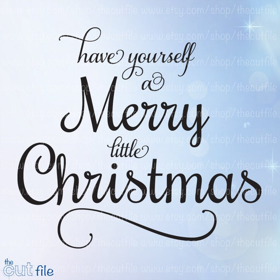 image 0 - Have Yourself A Merry Little Christmas Lyrics