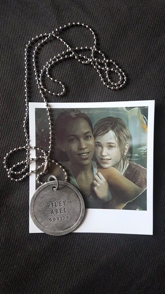 The last of us left behind abel rileys firefly dogtag mozeypictures Images