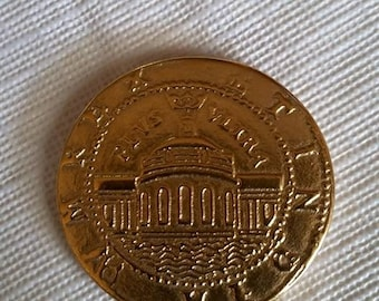 UNCHARTED DRAKE'S FORTUNE spanish gold coin game movie replica prop