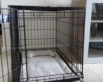dog crate pad etsy
