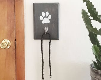 Dog Leash Hanger   Dog Leash Hook   Leash Holder   Dog Accessories   Pet Gift   Dog Home Decor   Housewarming Gift   Dog Lover Gift