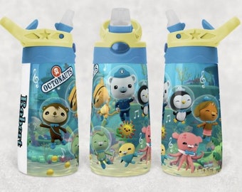 Octonauts 12 oz. Printed Sippy Tumbler with Flip-top Lid   Octonauts Spill-proof Flip-top Sippy.