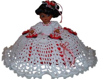 Hot Cherry Dress Pillow Doll