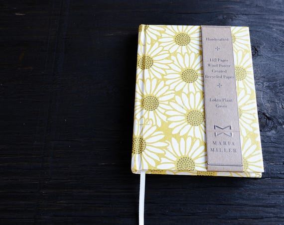 Handcrafted Hardcover Notebook