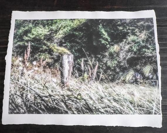 Sale  ||  Original Art Print  || 'Swept Away'  ||  Handmade Recycled Paper