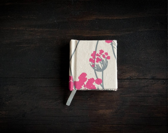 Mini Hardcover Handcrafted Notebook with Lokta Paper Cover