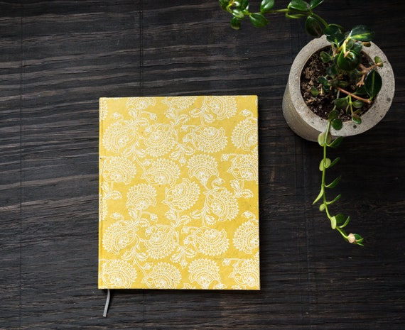 SALE || Large Handcrafted Hardcover Notebook