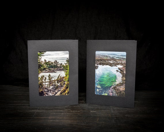 Set of 2 Handmade Greeting Cards Featuring Original West Coast Photography