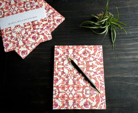 Handmade Thin Hardcover Notebook