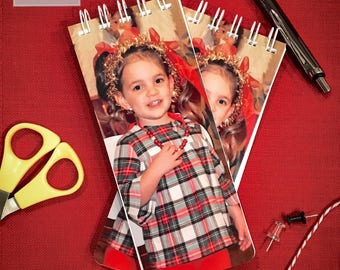 Photo Notepad, Photo Christmas Gift, Grandparent Gift, Set of 3 Notepads, Stocking Stuffer, Personalized Notepad, Photo Stocking Stuffers