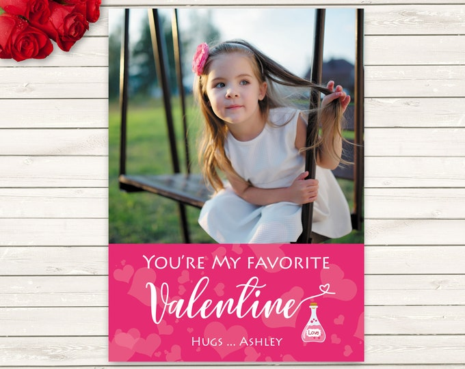 Featured listing image: Kids Photo Valentine's Day cards, Photo Valentine's Cards, Valentine's Day Cards, Kids Valentine's, Baby Valentine's, Printed Valentine's
