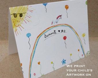 Personalized Kids Stationery Set - Children's Note Cards | The Enchanted Envelope
