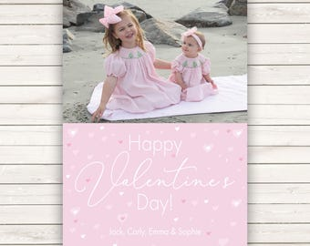 Photo Valentine's Day cards, Photo Valentine's Cards, Photo cards, Valentine's Day Cards, Kids Valentine's, Kids Valentine's Photo Cards