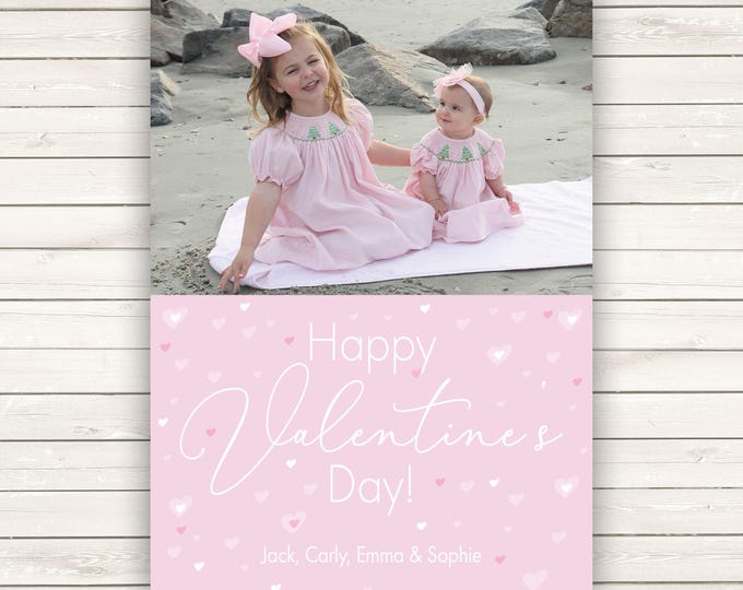Featured listing image: Photo Valentine's Day cards, Photo Valentine's Cards, Photo cards, Valentine's Day Cards, Kids Valentine's, Kids Valentine's Photo Cards
