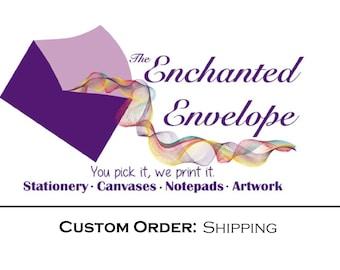 Shipping Fee, Custom Postage, Custom Shipping Fee