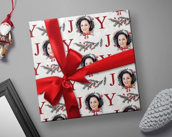 Photo Wrapping Paper, Custom Wrapping Paper, Photo Wrapping Paper Sheets, Photo Christmas Wrapping Paper, Wrapping Paper With Photos