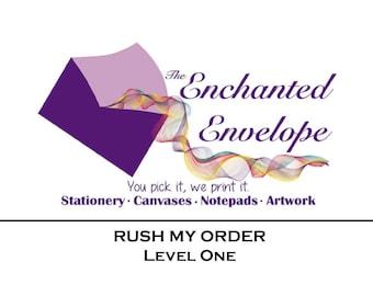Rush Charge, Rush My Order, Rush Fee, Rush Production
