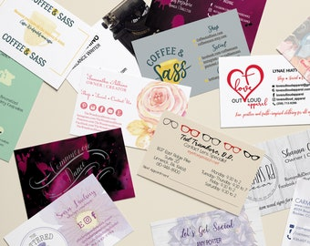 Business Cards, Business Card Design, Business Card Printing, Custom Business Cards, Graphic Design, Printed Business Cards