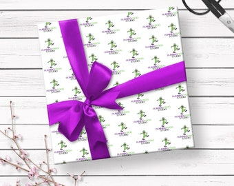 Wrapping Paper, Branded Wrapping Paper, Wrapping Paper With Logo, Custom Wrapping Paper, Christmas Wrapping Paper, Holiday Wrapping Paper