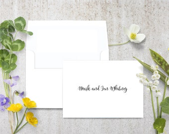 Personalized Wedding Favors, Wedding Note Cards, Personalized Wedding Stationery, Custom Wedding Favors, Personalized Guest Wedding Favors