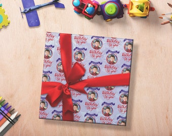Photo Wrapping Paper, Custom Wrapping Paper, Photo Wrapping Paper Sheets, Photo Birthday Wrapping Paper, Wrapping Paper With Photos