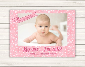Photo Valentine's Day cards, Valentine's Cards, Kids Photo Cards, Valentine's Day Cards, Kids Valentine's, Kids Valentine's Photo Cards