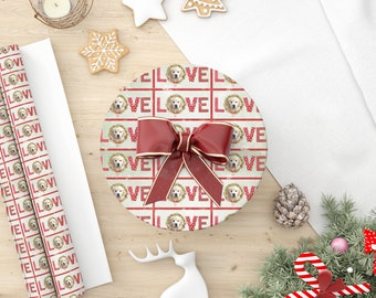 Photo Wrapping Paper, Photo Holiday Gift Wrap, Photo Christmas Wrapping Paper, Love Wrapping Paper, Pet Photo Wrapping Paper, Gift Wrap