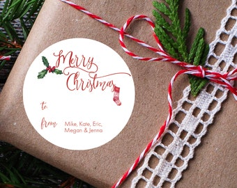 Christmas Stickers/Tags