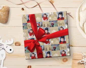 Photo Wrapping Paper, Photo Wrapping Paper Sheets, Photo Christmas Wrapping Paper, Custom Wrapping Paper, Personalized Christmas Wrapping