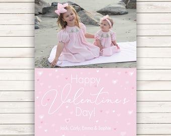 Photo Valentine's Day cards, Photo Valentine's Cards, Photo cards, Valentine's Day Cards, Kids Valentine's, Kids Valentine's Photo Cards