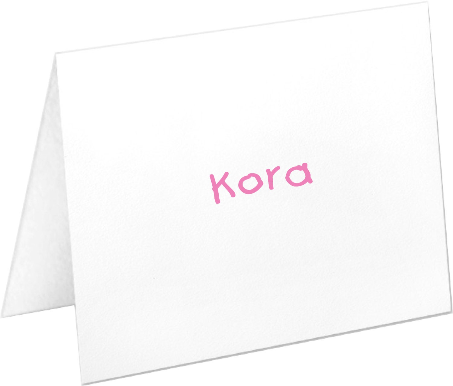 Personalized Kids Note Cards Stationery Set Birthday Gift Thank