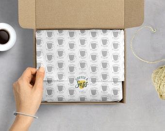 Branded Tissue Paper, Custom Tissue Paper, Printed Tissue Paper, Tissue Paper With Logo, Packaging Materials, Branded Packaging Items