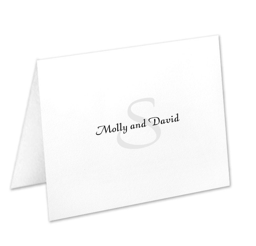 personalized note cards stationery set couples stationary watermark christmas gift wedding gift bridal shower gift stationary set