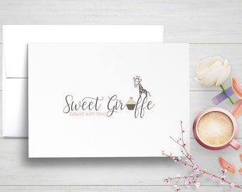 Branded Note Cards, Personalized Business Stationery, Corporate Note Cards, Stationary Set, Professional Stationery, Logo Notecards